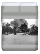59th Street By Central Park Duvet Cover