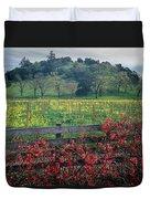 5b6301 Vineyards Of Color Duvet Cover