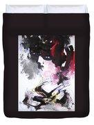 Abstract Figure Art Duvet Cover