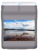 Back Beach - Lyme Regis Duvet Cover