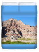 Badlands National Park South Dakota Duvet Cover
