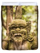 Bali Sculpture Duvet Cover