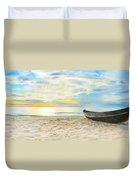 Beach Panorama Duvet Cover