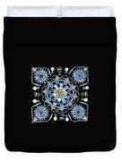 Diatoms Duvet Cover by M I Walker