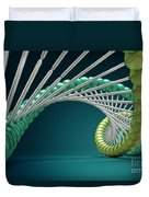 Dna Structure Duvet Cover
