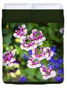 Flowering Garden.  Duvet Cover