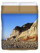 Gay Head Cliffs Duvet Cover