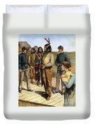Geronimo 1829-1909.  To License For Professional Use Visit Granger.com Duvet Cover