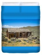 Homestead, Bodie Ghost Town Duvet Cover