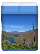 Idaho Landscape Duvet Cover