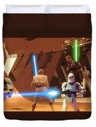 Jedi Star Wars Poster Duvet Cover