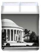 Jefferson Memorial In Washington Dc Duvet Cover