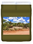 Landscape In Tanzania Duvet Cover