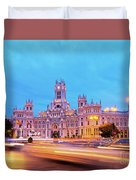 Madrid, Spain Duvet Cover