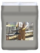 Male Farrier. Duvet Cover