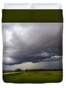 Non Severe Nebraska Thunderstorms Duvet Cover