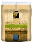 Nunney Castle Duvet Cover