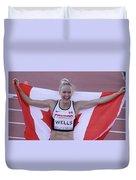 Pam Am Games Athletics Duvet Cover