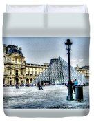 Paris France Duvet Cover