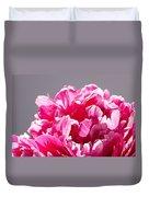 Peony Flower Duvet Cover