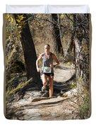 Pikes Peak Road Runners Fall Series IIi Race Duvet Cover
