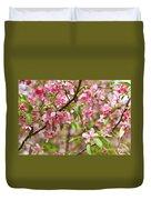Pink Cherry Tree Duvet Cover
