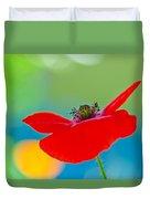 Poppy Duvet Cover by Silke Magino