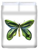 6 Queen Alexandra Butterfly Duvet Cover