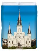 Saint Louis Cathedral Duvet Cover