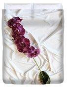 Silk Flower Duvet Cover