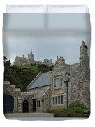 St Michael's Mount Cornwall Duvet Cover