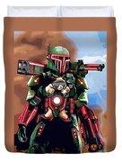 Star Wars Galactic Heroes Art Duvet Cover
