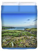Strumble Head Lighthouse Duvet Cover