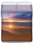 Sunrise Seascape At The Beach Duvet Cover
