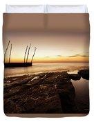 Sunset At Basanija Duvet Cover