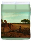 The Brush Harrow Duvet Cover