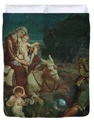 The Triumph Of The Innocents Duvet Cover
