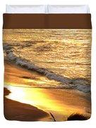 Black Sand 1 Duvet Cover