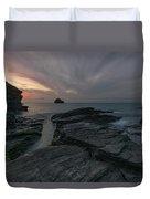 Trebarwith Strand - Cornwall Duvet Cover