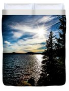 Waldo Lake Duvet Cover