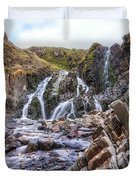 Welcombe Mouth Beach - England Duvet Cover