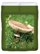 Wild Mushrooms Duvet Cover