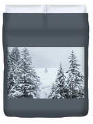 Winter Landscapes Duvet Cover