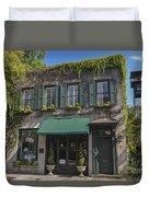 61 Queen Street In Charleston Duvet Cover