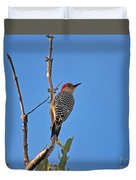 62- Red-bellied Woodpecker  Duvet Cover