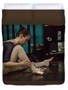 6271 Toe Shoes - Alexa  Duvet Cover