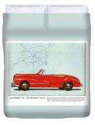 66 Oldsmobile Duvet Cover