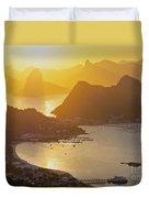 Rio De Janeiro Duvet Cover