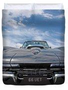 66 Vette Stingray Duvet Cover