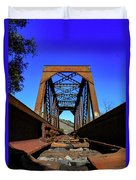 6696 Railroad Bridge Duvet Cover